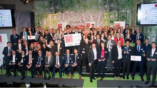 Die Siegerunterunternehmen werden jedes Jahr auf der CeBIT in Hannover ausgezeichnet.