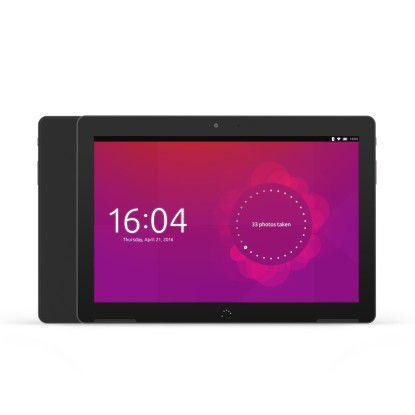 Die leistungsstärkere Variante ist das schwarze Aquaris M10 FHD Ubuntu Edition mit FullHD-Auflösung...