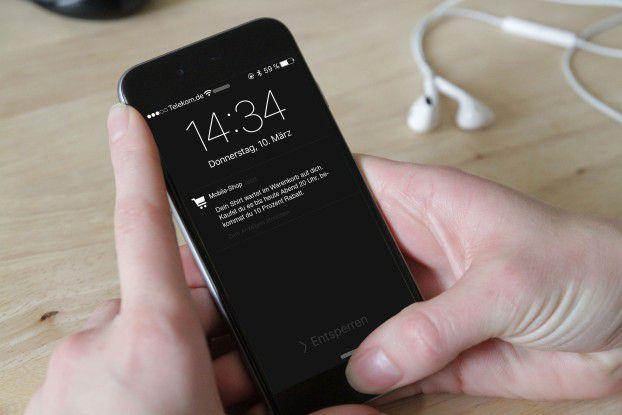 Mit individuell angepassten Push-Notifications erreichen App-Betreiber ihre Nutzer eher als mit allgemeinen Aufforderungen.