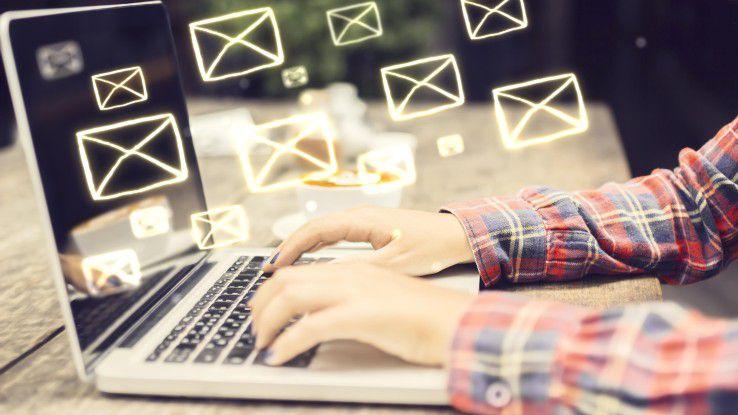 Die E-Mai hat sich zum Quasi-Standard bei der Verbindung externer Kommunikation mit internen Geschäftsprozessen entwickelt.