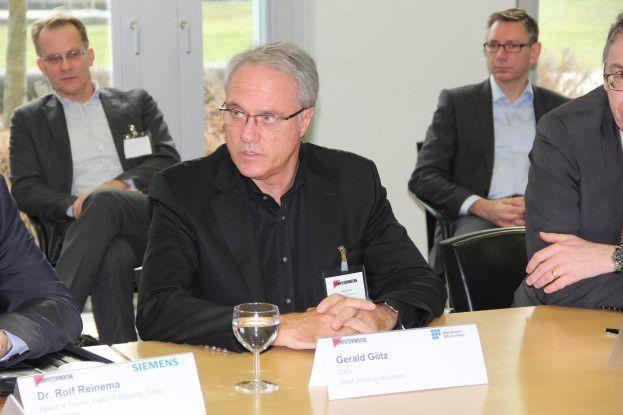 Gerald Götz hat aufgrund des bayerischen Datenschutzgesetzes keinen Spielraum in Sachen Cloud.