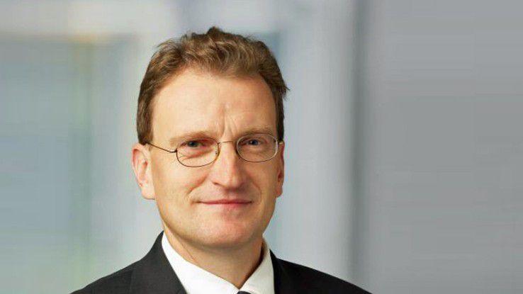 """Hartmut Rottstedt, Geschäftsführer Lexmark Deutschland GmbH: """"Mit dem neuen Auftritt ging es uns auch darum, eine neue interne Identität zu schaffen, mit der sich alle unsere Mitarbeiter identifizieren..."""""""