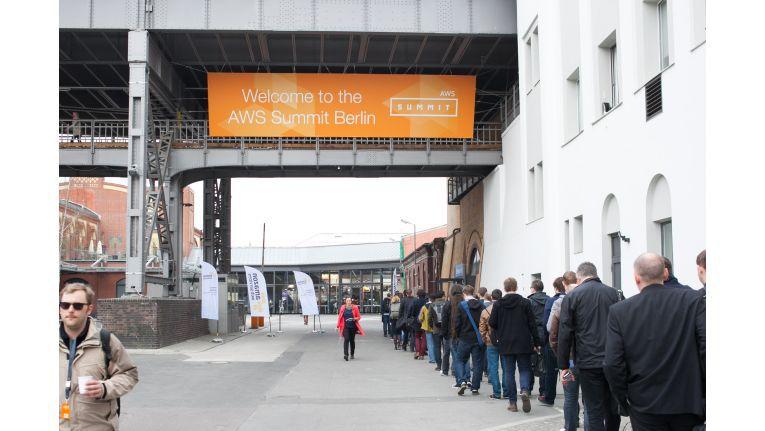 Mit über 2.500 Besuchern war der AWS Summit 2016 in Berlin gut besucht.