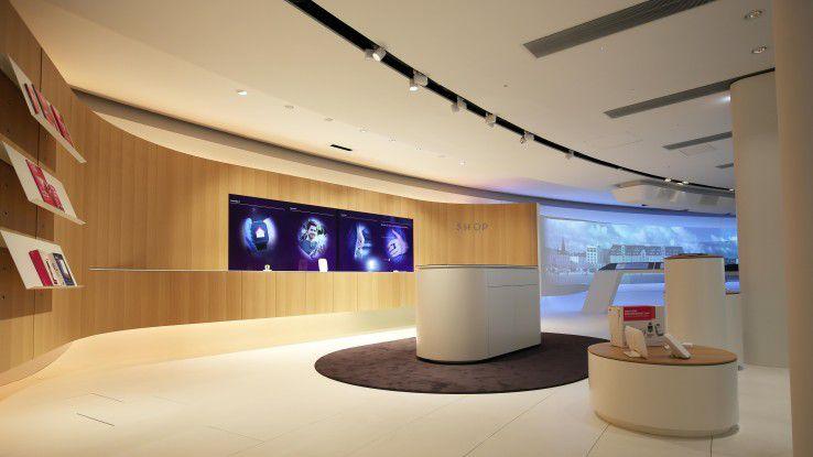 In der digitalisierten Welt werden die Shops smart.