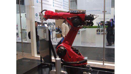Cobots, also kollaborative Roboter, sind ein Trend der diesjährigen HMI.