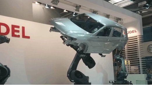 Hannover Messe Industrie 2016: Produktion durch Roboter ist längst auch in Deutschland weit verbreitet.