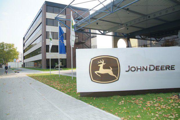 Mannheim ist nicht nur der größte Produktionsstandort außerhalb der USA, sondern auch die Europa-Zentrale von Deere.