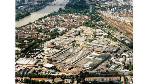 Das Mannheimer Werk ist der größte John- Deere-Standort in Europa.
