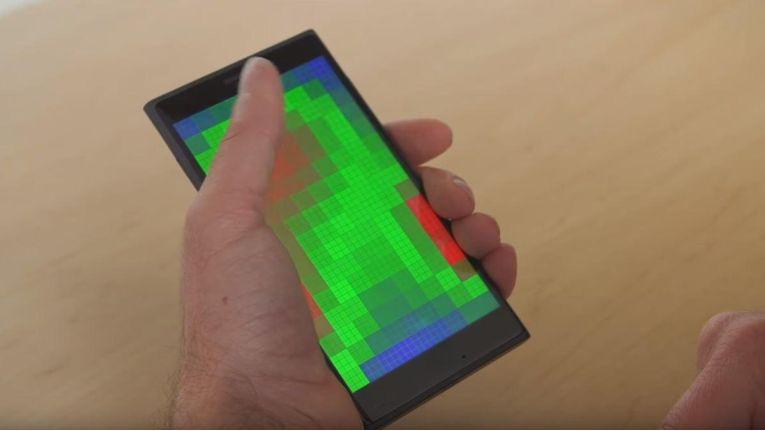 Pre Touch erkennt Bewegungen der Hände und Finger vor dem Display und löst entsprechend Aktionen aus.