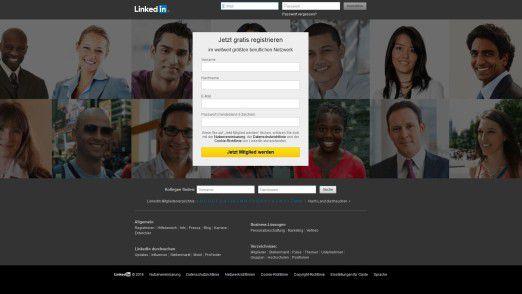 """Wenn Sie an dieser Stelle das Registrierungsformular ausfüllen, sollten Sie einige Passwörter tunlichst meiden - Sind Sie bereits LinkedIn-Mitglied und nutzen eines der """"Top-Passwörter"""", wird es Zeit, dieses zu ändern."""