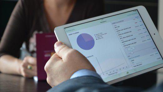 Schwerpunkt aller MobileFirst-Apps ist es, Mitarbeitern die richtigen Informationen zur richtigen Zeit bereitzustellen.