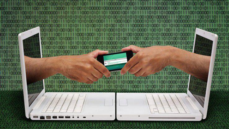 Um Daten auszutauschen, stehen Mitarbeitern oft die unterschiedlichsten Tools zur Verfügung.