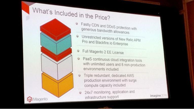 Magento stellte bereits erste Details, was die Lizenz enthalten wird, vor.