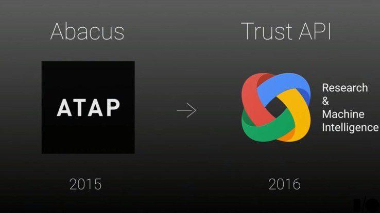 Bereits 2015 hatte Googles Forschungabteilung ATAP eine Initiative gestartet, die Authentifizierung anhand des Nutzerverhaltens vorzunehmen.