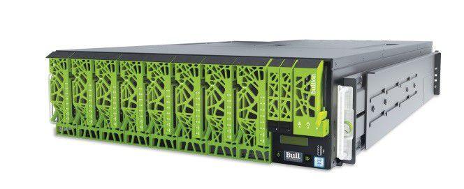 Der Bullion-Server bildet die Grundlage für die neue Data-Lake- und Analyics-Lösung von Atos. Die technische Basis dafür stammt vom Server-Spezialisten Bull, den Atos 2014 übernommen hatte.