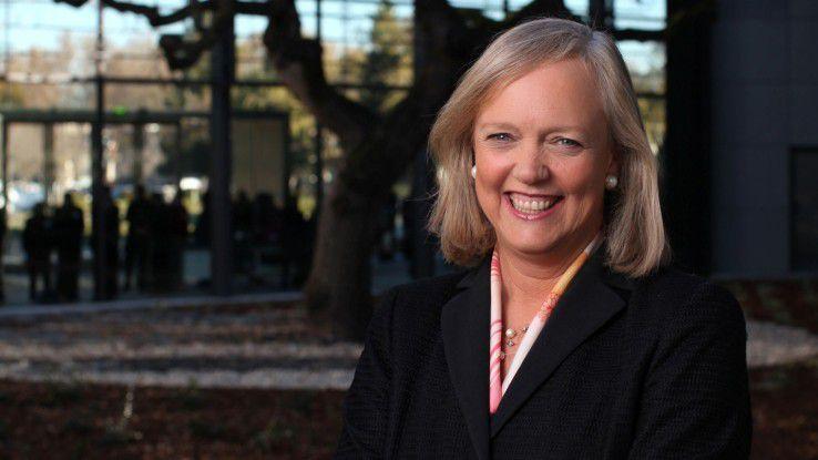Kaum ist das Drucker- und PC-Geschäft abgespalten, widmet sich HPE-Chefin Meg Whitman dem IT-Service-Business.