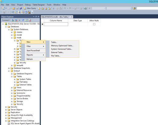 Der SQL Server 2016 von Microsoft kann Versionen für Tabellen anlegen und so auch Verlaufsdaten speichern.