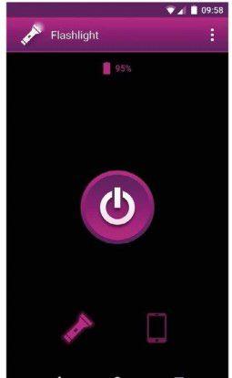 Machen Sie aus Ihrem Smartphone eine LED-Taschenlampe..