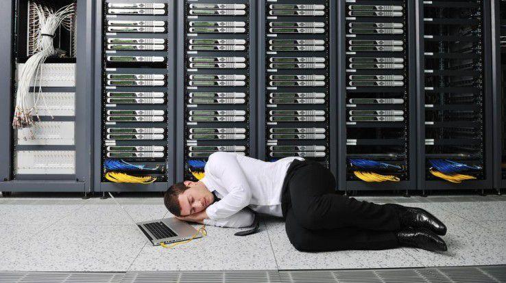 Ruhig schlafen kann nur, wer sich gut um die IT-Security kümmert.