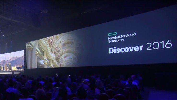 Auf der Discover 2016 in Las Vegas stellte HPE seine neusten Produkte, Services und Partnerschaften vor.