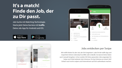 Digital Leader Award 2016 – Truffls: Truffls: Mobile Recruiting mit Matching-Technologie - Foto: Truffls