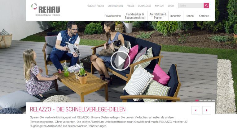 "Mit ""RAU-INVENTORY"" bewirbt sich die Rehau AG + CO um den Digital Leader Award 2016 in der Kategorie Create Impact."