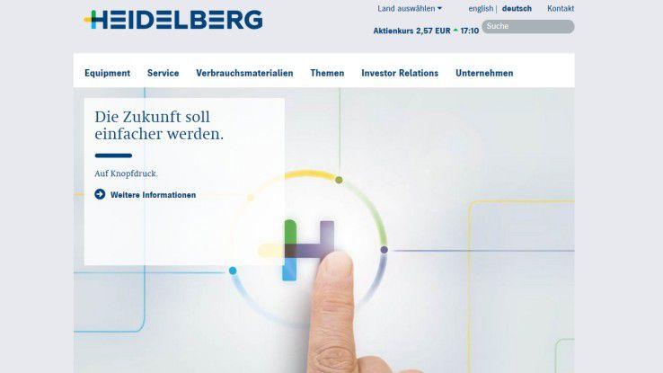 """Mit seinem Projekt """"Heidelberg ASSISTANT"""" bewirbt sich die das Unternehmen um den Digital Leader Award 2016 in der Kategorie Create Impact."""