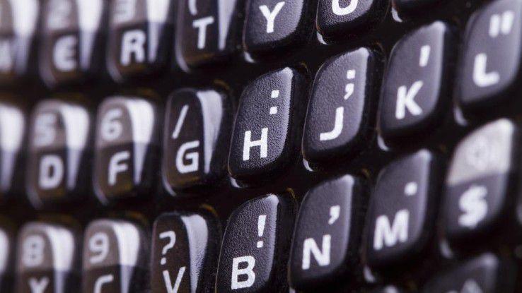 Auf der CES soll ein Blackberry mit Volltastatur vorgestellt werden.