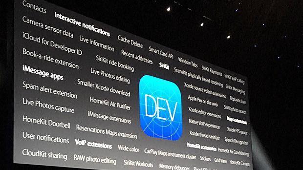 Auf der (eigentlich) Entwicklerkonferenz WWDC 2016 stellte Apple im Umfeld von iOS 10 auch etliche Neuerungen für App-Entwickler vor.