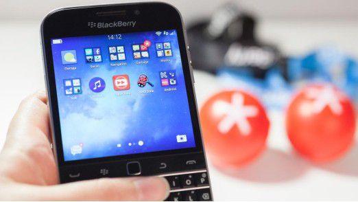 Das Blackberry Classic sollte die klassischen Blackberry-Nutzer abholen, viele wechselten aber zu iOS und Android.