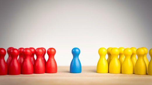 Plattform-Anbieter vermitteln zwischen denen, die etwas haben und denen, die etwas möchten.