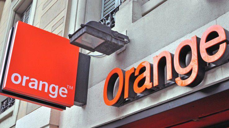 In Frankreich an fast jeder Ecke anzutreffen - die Orange-Shops. Nun möchte der Konzern mit seiner Dienstleistungssparte auch international durchstarten.
