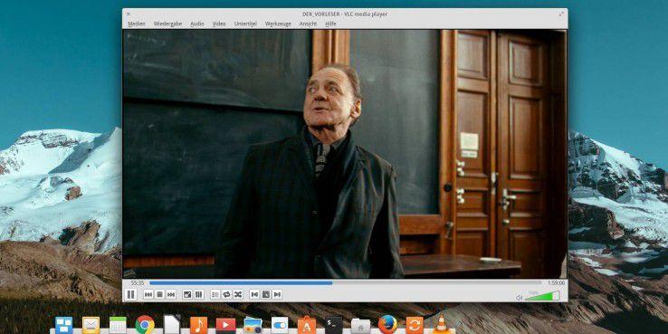 Der VLC-Player ist eine Spitzen-Video-Abspielsoftware.