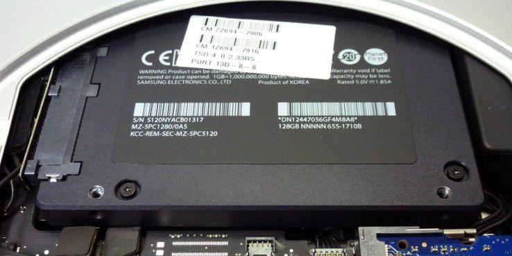 Bei Apples SSDs gibt es einige Besonderheiten zu beachten.