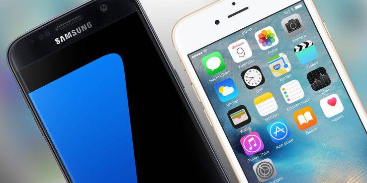 Samsung und Apple im Vergleich: So viel sind die Smartphones heute Wert