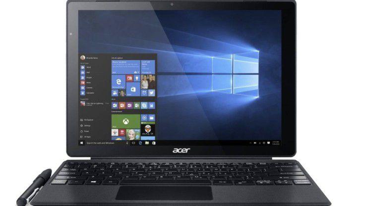 2in1-Gerät mit hoher Leistung: Acer Switch Alpha 12 im Test