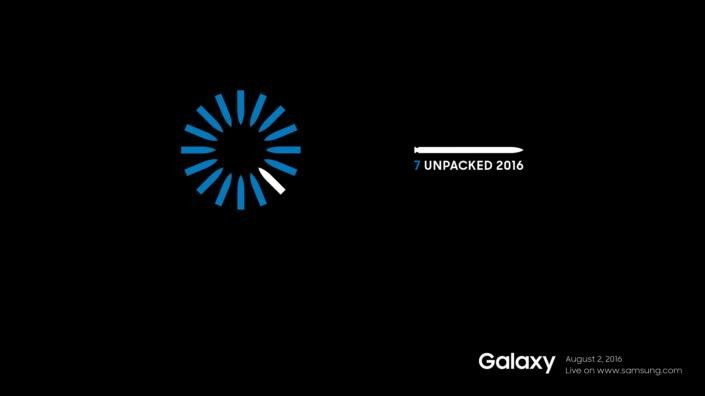 Samsung Galaxy Note 7 Unpacked Event 2016