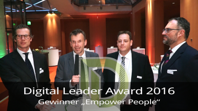 Award-Kategorien: Digital Leader Award 2016: Alle Gewinner im Interview