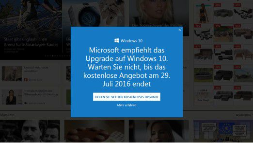 Kostenloses Windows 10 Upgrade endet : Windows-10-Betriebssystem optimal konfigurieren - Foto: Microsoft