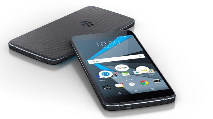 Das Blackberry DTEK50