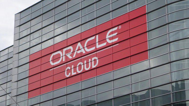 Oracle hofft vor allem auf das wachsende Cloud-Geschäft.