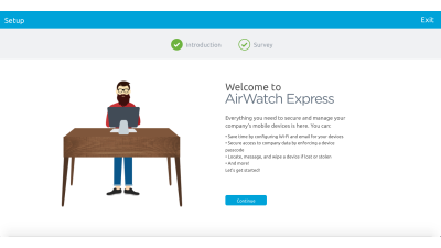 AirWatch Express - Foto: VMware