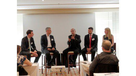 Spannende Diskussion rund um das Thema Advanced Workplace Strategies