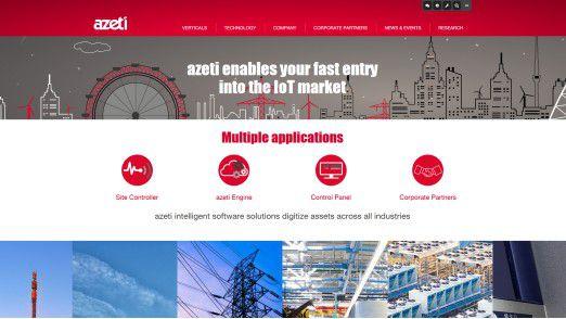 Azeti bietet eine Remote Asset Management Software für IoT-Devices an.