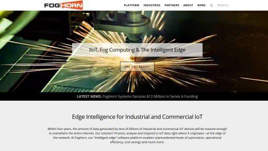 Fog Horn Systems entwickelt Edge Analytics Software für industrielle und kommerzielle IoT-Applikationen.