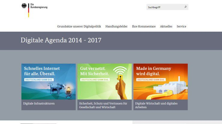 Bei der Digitalen Agenda 2014 - 2017 hat die Bundesregierung laut eco 60 Prozent der Ziele noch nicht erreicht.