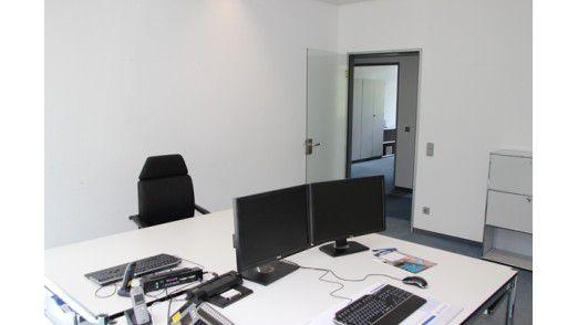 ... ist heute Raum für moderne PC-Arbeitsplätze.