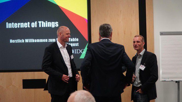 Der IoT-Roundtable bot Beratern, Dienstleistern und Herstellern eine Möglichkeit zum regen Gedankenaustausch.