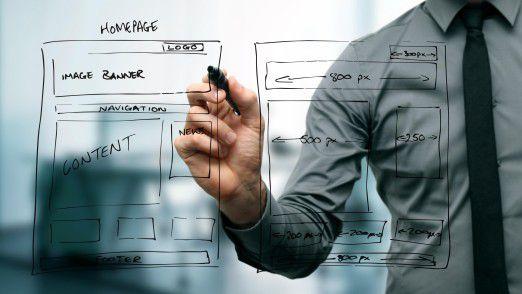 Ein Web Developer ist laufend mit Änderungen und Ergänzungen rund um die Website und die angehängten Systeme beschäftigt.
