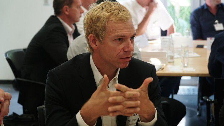 Marten Schirge, Vice President of Sales bei Device Insight, fordert die schnellen Proof of Concepts, die Piloten aus der Fachabteilung.